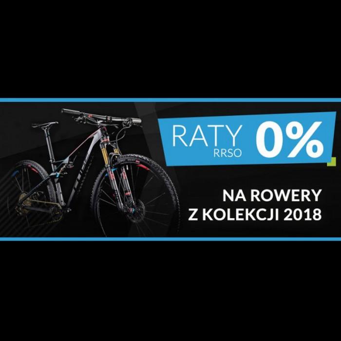 Raty 0% na rowery z kolekcji 2018