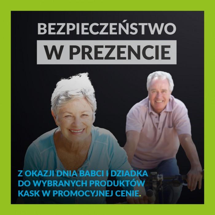 Podaruj bezpieczeństwo na Dzień Babci i Dziadka - kaski Merida za 49 zł
