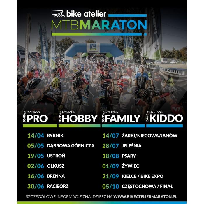 Nowy sezon Bike Atelier MTB Maratonu - poznaj kalendarz startów