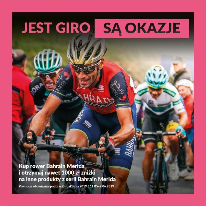 Jest Giro, są okazje! Kup rower Bahrain-Merida i odbierz darmowe produkty nawet za 1000 zł