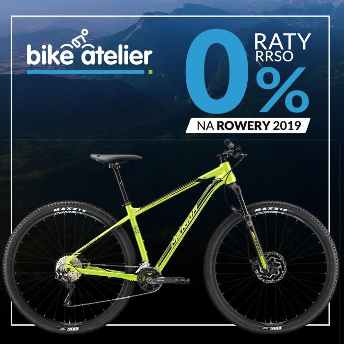 Raty 0% na wszystkie rowery z kolekcji 2019! Możesz skorzystać do 26 maja