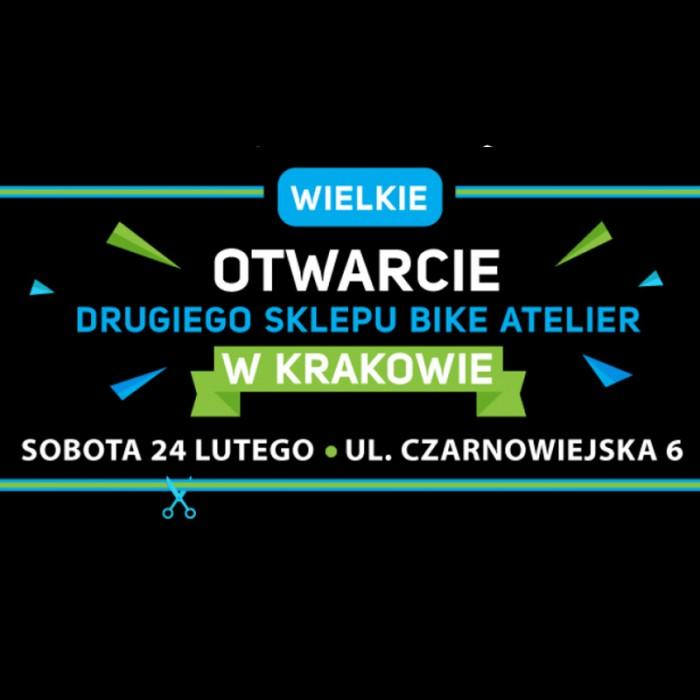 24 lutego otwarcie drugiego sklepu Bike Atelier w Krakowie