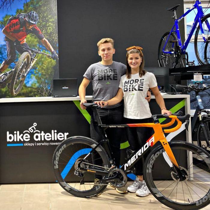 Nowy sklep Bike Atelier w Jeleniej Górze, zaprasza mistrzyni MTB!