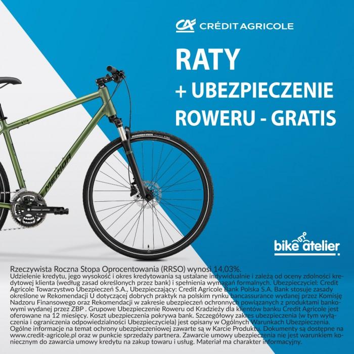Raty dla Ciebie z ubezpieczeniem roweru od kradzieży